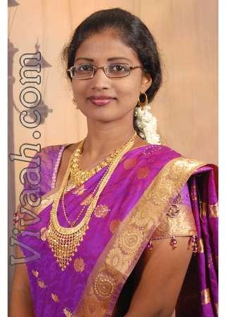 jacintha   christian tamil roman catholic bride girl from tamil nadu
